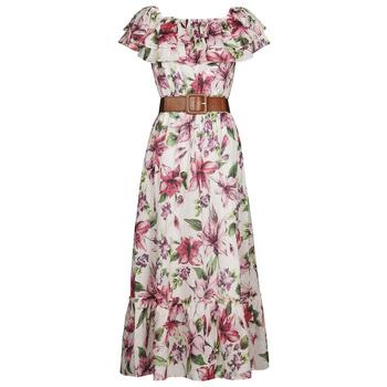 Vêtements Femme Robes longues Liu Jo WA1496-T5976-T9706 Fleuri