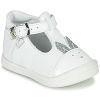 Chaussures Fille Ballerines / babies GBB ANINA Blanc