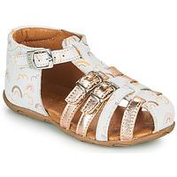 Chaussures Fille Sandales et Nu-pieds GBB RIVIERA Rose