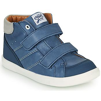 Chaussures Garçon Baskets montantes GBB MORISO Bleu