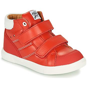 Chaussures Garçon Baskets montantes GBB MORISO Rouge