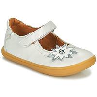 Chaussures Fille Ballerines / babies GBB FANETTA Blanc