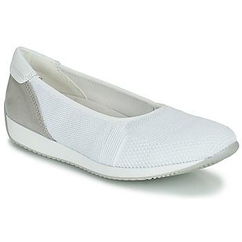 Chaussures Femme Baskets basses Ara PORTO-FUSION4 Blanc