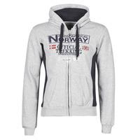 Vêtements Homme Sweats Geographical Norway GAFONT Gris mélangé