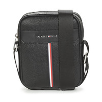 Sacs Homme Pochettes / Sacoches Tommy Hilfiger TH DOWNTOWN MINI REPORTER Noir