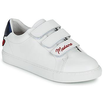 Chaussures Femme Baskets basses Bons baisers de Paname EDITH MADAME MONSIEUR Blanc