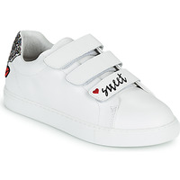 Chaussures Femme Baskets basses Bons baisers de Paname EDITH SWEET HEART Blanc