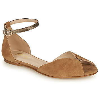 Chaussures Femme Sandales et Nu-pieds Betty London INALI Camel