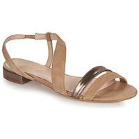Chaussures Femme Sandales et Nu-pieds Betty London OCOLI Beige