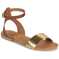 Chaussures Femme Sandales et Nu-pieds Betty London GIMY Camel/doré