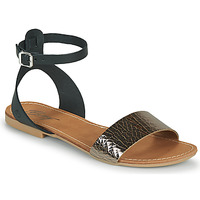 Chaussures Femme Sandales et Nu-pieds Betty London GIMY Noir/acier