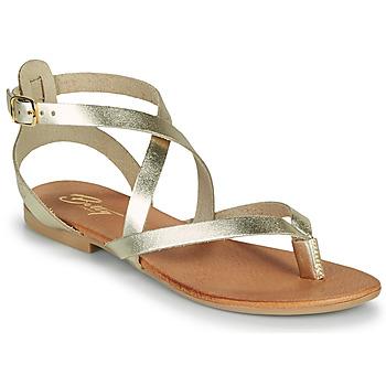 Chaussures Femme Sandales et Nu-pieds Betty London OPALACE Doré
