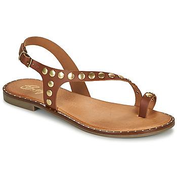 Chaussures Femme Sandales et Nu-pieds Betty London OPATIO Camel