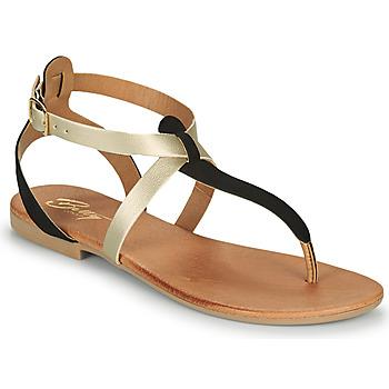 Chaussures Femme Sandales et Nu-pieds Betty London OVERNE Noir/doré