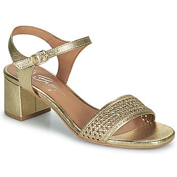Chaussures Femme Sandales et Nu-pieds Betty London OUPETTE Doré
