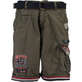 Vêtements Garçon Shorts / Bermudas Geographical Norway PACOME Gris