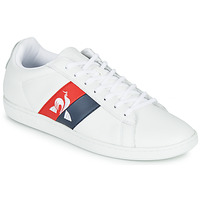 Chaussures Homme Baskets basses Le Coq Sportif COURTCLASSIC FLAG Blanc / Rouge