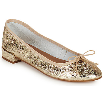 Chaussures Femme Ballerines / babies Minelli PLIVIA Doré