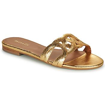 Chaussures Femme Mules Minelli NANCIA Doré