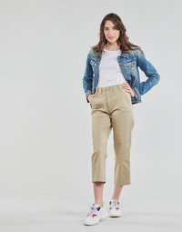 Vêtements Femme Chinos / Carrots Tommy Jeans TJW HIGH RISE STRAIGHT Beige