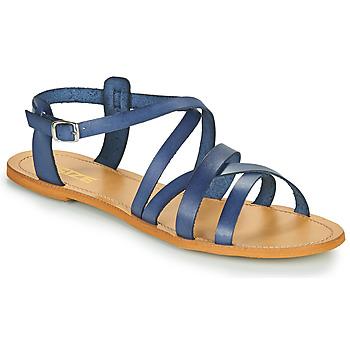 Chaussures Femme Sandales et Nu-pieds So Size IDITRON Marine