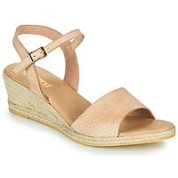 Chaussures Femme Sandales et Nu-pieds So Size OTTECA Beige