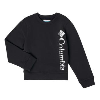 Vêtements Fille Sweats Columbia COLUMBIA PARK FRENCH TERRY CREW Noir