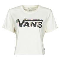 Vêtements Femme T-shirts manches courtes Vans BLOZZOM ROLL OUT Blanc