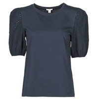 Vêtements Femme T-shirts manches courtes Esprit T-SHIRTS Noir