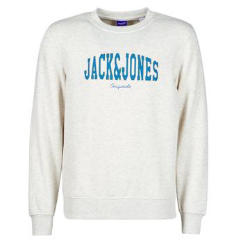 Vêtements Homme Sweats Jack & Jones JORHART Blanc