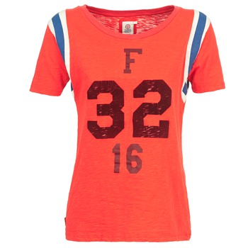 Vêtements Femme T-shirts manches courtes Franklin & Marshall POINTO Corail