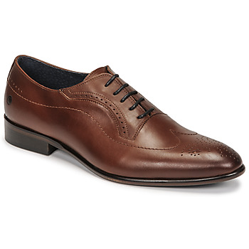 Chaussures Homme Richelieu Carlington OULIO Cognac