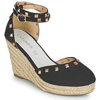 Chaussures Femme Sandales et Nu-pieds Café Noir NOEL Noir