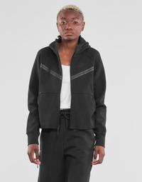 Vêtements Femme Vestes de survêtement Nike NSTCH FLC WR ESSNTL FZ HDY Noir