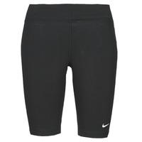 Vêtements Femme Leggings Nike NSESSNTL MR BIKER SHORT Noir / Blanc