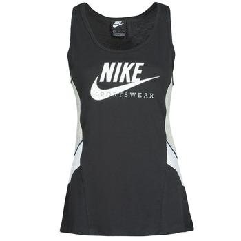 Vêtements Femme Débardeurs / T-shirts sans manche Nike NSHERITAGE TTOP HBR Noir / Gris / Blanc