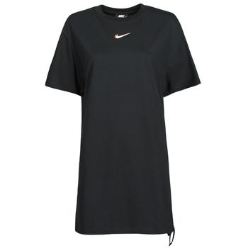 Vêtements Femme T-shirts manches courtes Nike NSESSNTL DRESS PRNT Noir