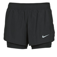 Vêtements Femme Shorts / Bermudas Nike 10K 2IN1 SHORT Noir