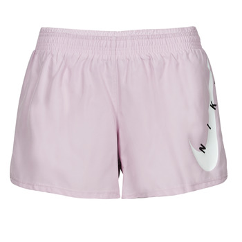 Vêtements Femme Shorts / Bermudas Nike SWOOSH RUN SHORT Violet / Blanc