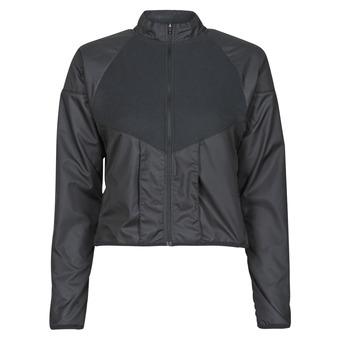 Vêtements Femme Coupes vent Nike RUN DVN TOP MID Noir / Doré