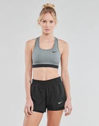 Vêtements Femme Brassières de sport Nike DF SWSH BAND NONPDED BRA Gris / Noir