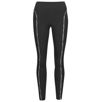 Vêtements Femme Leggings Nike NIKE ONE LUXE ICNCLSH TGT Noir / Violet