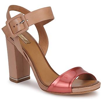 Chaussures Femme Sandales et Nu-pieds Eva Turner CHANTEVIEL Bronze rouge