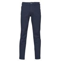 Vêtements Homme Chinos / Carrots Selected SLHSLIM-MILES FLEX Marine