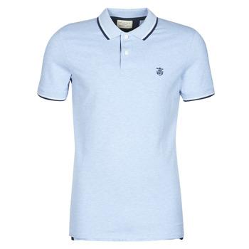Vêtements Homme Polos manches courtes Selected SLHNEWSEASON Bleu clair