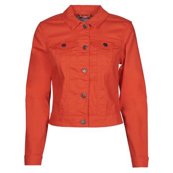 Vêtements Femme Vestes en jean Noisy May NMDEBRA Rouge