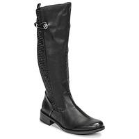 Chaussures Femme Bottes ville Rieker  Noir