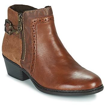 Chaussures Femme Bottines Rieker BELLA Marron