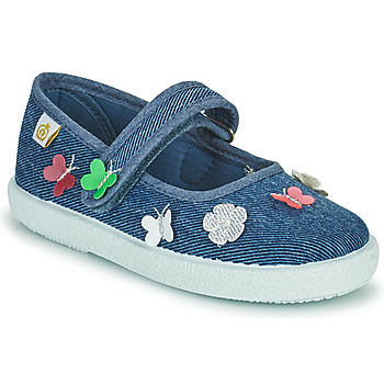Chaussures Fille Ballerines / babies Citrouille et Compagnie OXINA Jeans