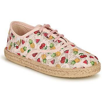 Chaussures Fille Baskets basses Citrouille et Compagnie OAKO Multicolor